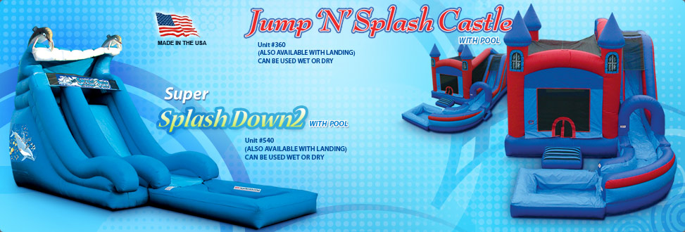 Jump N Splash Castle